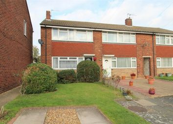Thumbnail 3 bed end terrace house for sale in Thorne Close, Ashford, Middlesex
