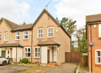 Thumbnail 2 bedroom end terrace house for sale in Hamilton Close, Swaffham