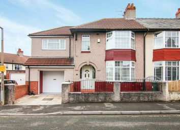 Thumbnail 4 bed end terrace house for sale in Irvine Road, Tranmere, Birkenhead