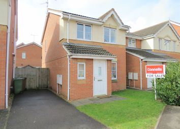 Thumbnail 3 bed detached house for sale in Swan Gardens, Peterborough