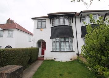 Thumbnail 3 bed semi-detached house to rent in Abbey Road, South Croydon