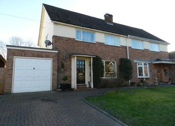 Thumbnail 3 bed semi-detached house to rent in Beechmill Drive, Culcheth, Warington