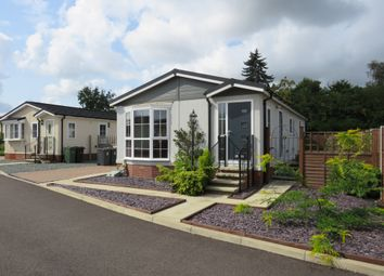 Thumbnail 2 bed mobile/park home for sale in Appletree Close, Attleborough