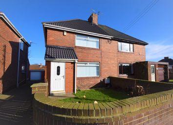 3 bed semi-detached house for sale in Laburnum Crescent, Easington Village, County Durham SR8