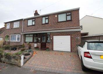 Thumbnail 4 bedroom semi-detached house for sale in Norreys Avenue, Urmston, Manchester