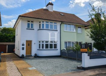 Thumbnail 3 bed semi-detached house for sale in Thornford Gardens, Southend-On-Sea, Essex