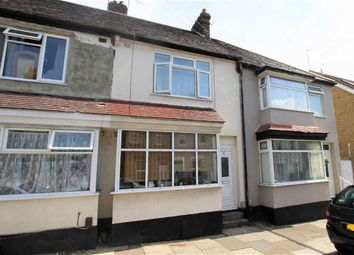 Thumbnail 3 bed terraced house for sale in Oakleigh Avenue, Southend-On-Sea, Essex