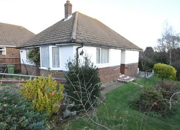 Thumbnail 2 bed detached bungalow for sale in Haslam Crescent, Bexhill-On-Sea
