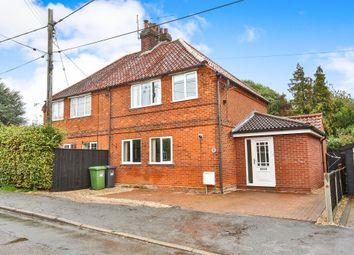 Thumbnail 3 bed semi-detached house for sale in Greenway Close, Fakenham