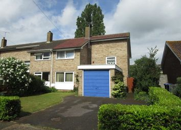 Thumbnail 3 bed end terrace house for sale in Heather Road, Welwyn Garden City