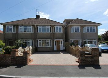 Thumbnail 3 bedroom semi-detached house to rent in Wedgewood Road, Downend, Bristol