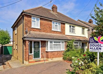 Thumbnail 3 bed semi-detached house for sale in Mountnessing Road, Billericay, Essex