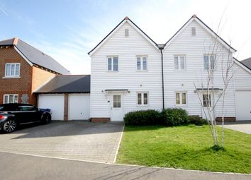 Thumbnail 2 bed semi-detached house to rent in White Admiral Grove, Iwade, Sittingbourne