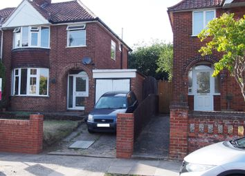 Thumbnail 3 bed semi-detached house for sale in Belstead Avenue, Ipswich