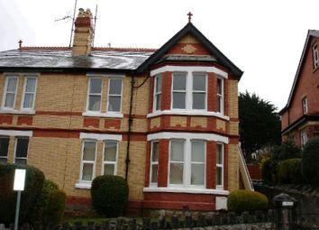 Thumbnail 2 bed flat to rent in Meiriadog Road, Old Colwyn, Colwyn Bay