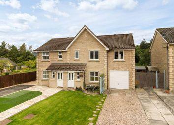 Thumbnail 3 bed semi-detached house for sale in 44 Whitehaugh Park, Peebles