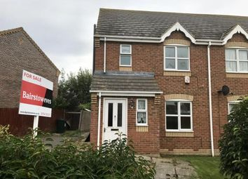 Thumbnail 3 bed semi-detached house for sale in Merrills Lane, Ingoldmells, Skegness, Lincolnshire