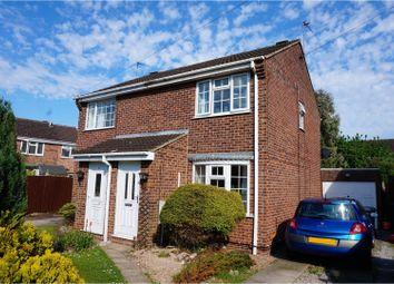 Thumbnail 2 bed semi-detached house for sale in Milburn Grove, Bingham, Nottingham