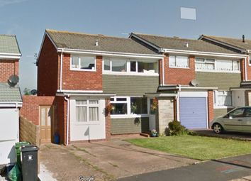 Thumbnail 3 bed semi-detached house to rent in Langstone Drive, Exmouth