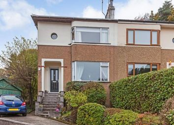 Thumbnail 3 bedroom semi-detached house for sale in Stirling Avenue, Bearsden, Glasgow, East Dunbartonshire