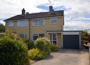 Thumbnail 3 bed semi-detached house for sale in Ashley Close, Whitley, Melksham