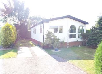 Thumbnail 2 bed mobile/park home for sale in The Pines Homes Park, Huntington, Cannock, Staffordshire