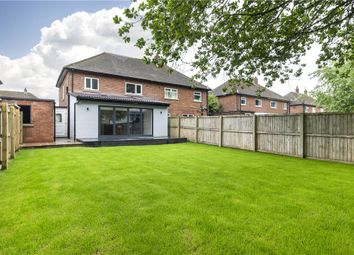 Thumbnail 3 bed semi-detached house for sale in Midgley Road, Burley In Wharfedale, Ilkley, West Yorkshire