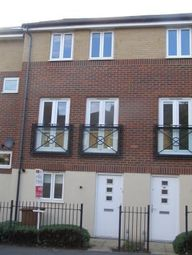 Thumbnail 3 bed town house to rent in Eagle Way, Hampton Centre, Peterborough, 8Gs, Peterborough