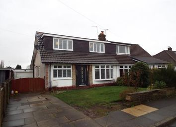 Thumbnail 3 bedroom semi-detached house for sale in Pennine Close, Walshaw Park, Bury, Greater Manchester
