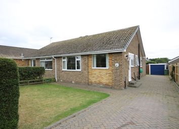 Thumbnail 2 bed semi-detached bungalow for sale in Wooldale Drive, Filey