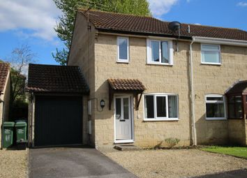 Thumbnail 3 bed semi-detached house for sale in Darcy Close, Chippenham