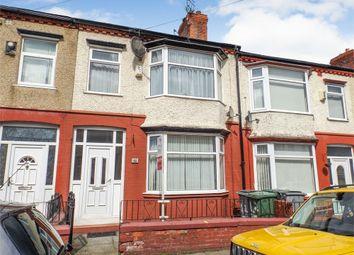 Thumbnail 3 bed terraced house for sale in Inglemere Road, Birkenhead, Merseyside