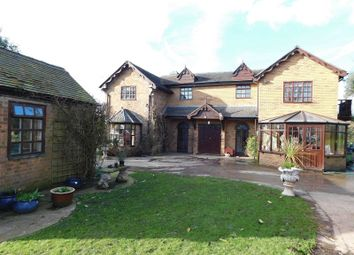 Thumbnail 4 bed farmhouse for sale in Gnosall Road, Gnosall, Staffordshire