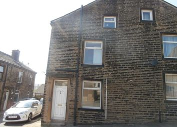 Thumbnail 2 bed semi-detached house to rent in Chapel Street, Denholme, Bradford