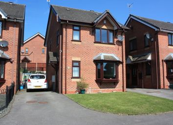 Thumbnail 3 bed detached house for sale in Willowcroft Way, Harriseahead, Stoke-On-Trent
