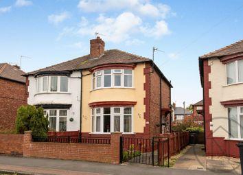 Thumbnail 2 bed semi-detached house for sale in Park Crescent, Darlington