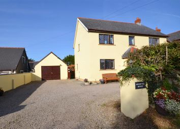 Thumbnail 4 bed detached house for sale in Rosemarket Road, Sardis, Milford Haven