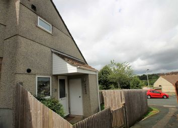 Thumbnail 1 bedroom end terrace house to rent in Tregenna Close, Plympton
