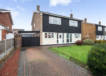 Thumbnail 3 bed semi-detached house for sale in Elder Avenue, Wickford, Essex