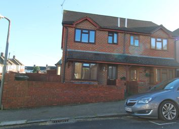 Thumbnail 3 bed terraced house to rent in Camden Road, Gillingham, Kent