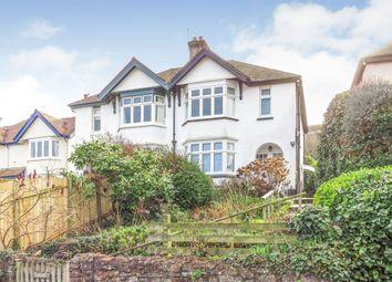 Thumbnail 3 bed semi-detached house for sale in Millbridge Road, Minehead