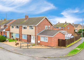 Thumbnail 3 bed semi-detached house for sale in St. Josephs Close, Kettering