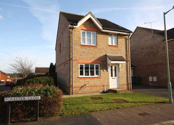 Thumbnail 3 bed link-detached house for sale in Forester Close, Pinewood, Ipswich