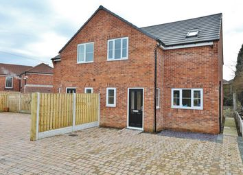 Thumbnail 3 bed semi-detached house for sale in The Coppice Garden Drive, Brampton, Barnsley