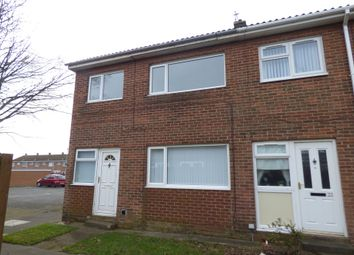 Thumbnail 3 bed terraced house to rent in Norwich Close, Ashington