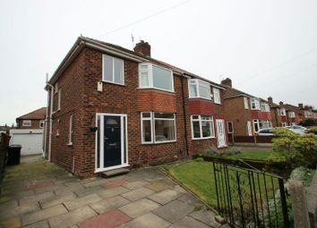 Thumbnail 3 bed semi-detached house for sale in Beech Road, Sale