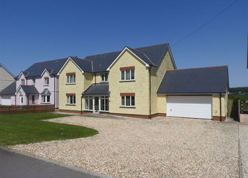 Thumbnail 4 bed detached house for sale in Bowls Road, Blaenporth, Cardigan, Ceredigion