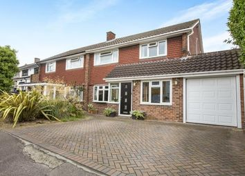 Thumbnail 3 bed semi-detached house for sale in Daylop Drive, Chigwell