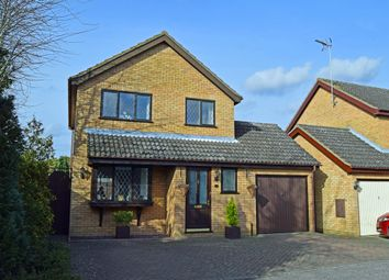 Thumbnail 3 bed detached house for sale in Woolner Close, Barham, Ipswich