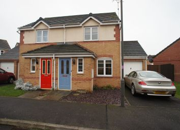 Thumbnail 2 bed semi-detached house to rent in Churnet Road, Hilton, Derby